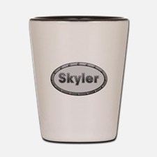 Skyler Metal Oval Shot Glass