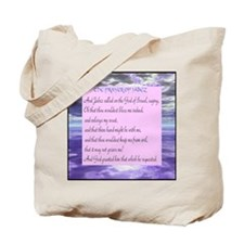 """Prayer of Jabez"" double sided Tote Bag"
