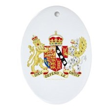 Diana, Princess of Wales Coat of Arms Ornament (Ov