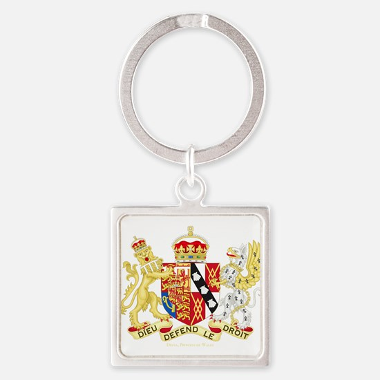 Diana, Princess of Wales Coat of Arms Keychains