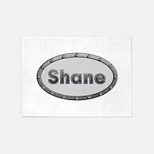 Shane Metal Oval 5'x7'Area Rug