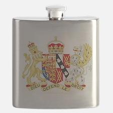 Diana, Princess of Wales Coat of Arms Flask