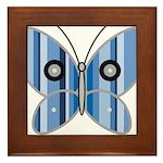 Sweet butterfly Framed Tile