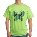 Sweet butterfly Green T-Shirt