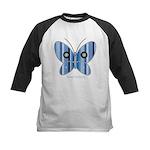 Sweet butterfly Kids Baseball Jersey