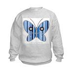 Sweet butterfly Kids Sweatshirt