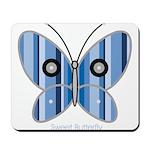 Sweet butterfly Mousepad