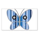Sweet butterfly Rectangle Sticker