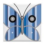 Sweet butterfly Tile Coaster