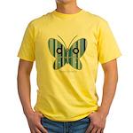 Sweet butterfly Yellow T-Shirt
