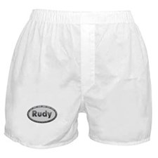 Rudy Metal Oval Boxer Shorts