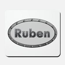 Ruben Metal Oval Mousepad