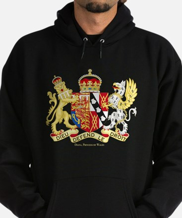 Diana, Princess of Wales Coat of Arms Hoody