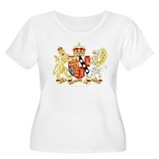 Diana, Princess of Wales Coat of Arms Plus Size T-