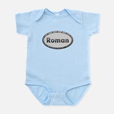 Roman Metal Oval Body Suit