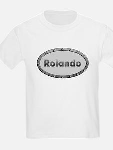 Rolando Metal Oval T-Shirt