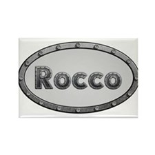Rocco Metal Oval Magnets