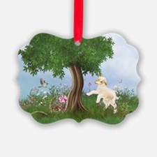 Easter Lamb Ornament