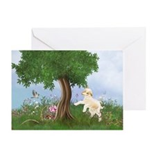 Easter Lamb Greeting Cards