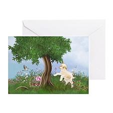 Easter Lamb Greeting Cards