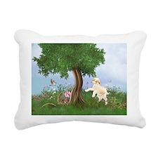 Easter Lamb Rectangular Canvas Pillow