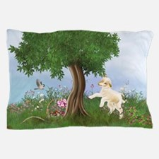Easter Lamb Pillow Case