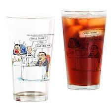 WildSteen Eats Christie Drinking Glass
