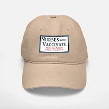 Nurses Who Vaccinate Logo Baseball Baseball Baseball Cap