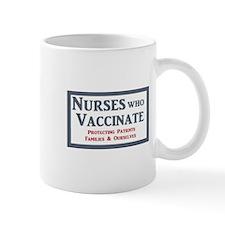 Nurses Who Vaccinate Logo Mugs