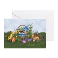 Easter Bunny Greeting Cards