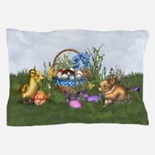 Easter Bunny Pillow Case