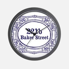 221b Baker Street Wall Clock