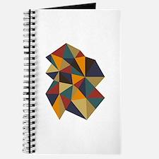Geometric Triangle Art Journal