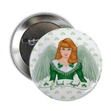 "Irish Angel 2.25"" Button (10 pack)"