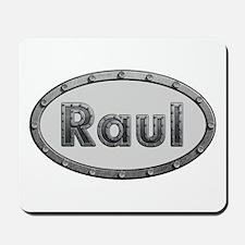 Raul Metal Oval Mousepad