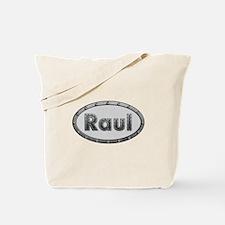 Raul Metal Oval Tote Bag