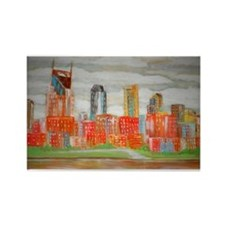 Nashville Skyline Magnets