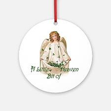 Bit of Heaven Ornament (Round)