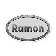 Ramon Metal Oval Oval Car Magnet