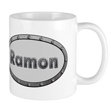 Ramon Metal Oval Mugs