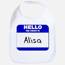 hello my name is alisa  Bib