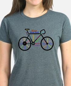 Bike Made Up Of Words To Moti Tee