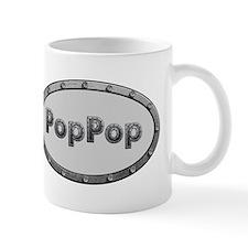 PopPop Metal Oval Mugs