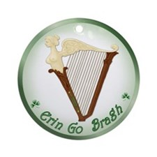 Ireland Forever Ornament (Round)