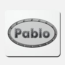 Pablo Metal Oval Mousepad