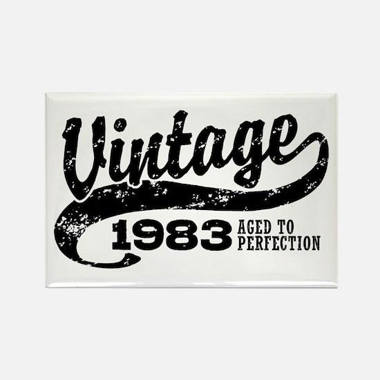 Vintage 1983 Rectangle Magnet