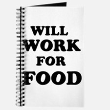 Will Work For Food Journal