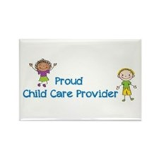 Proud Child Care Provider Rectangle Magnet