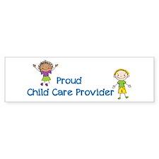 Proud Child Care Provider Bumper Sticker