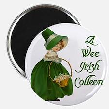 """Irish Colleen 2.25"""" Magnet (10 pack)"""